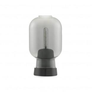 Amp Table Lamp - Smoke/Black