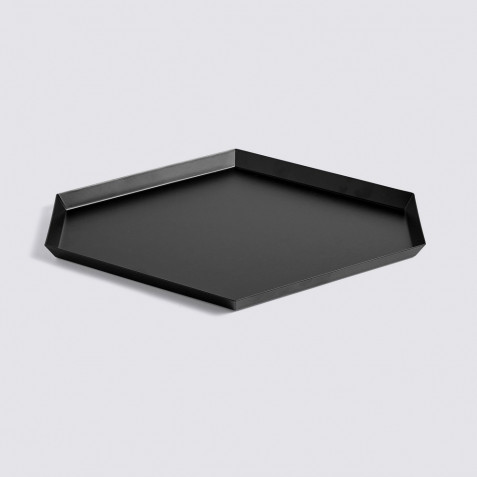 PLATEAU KALEIDO - L (39 X 34 ) - BLACK