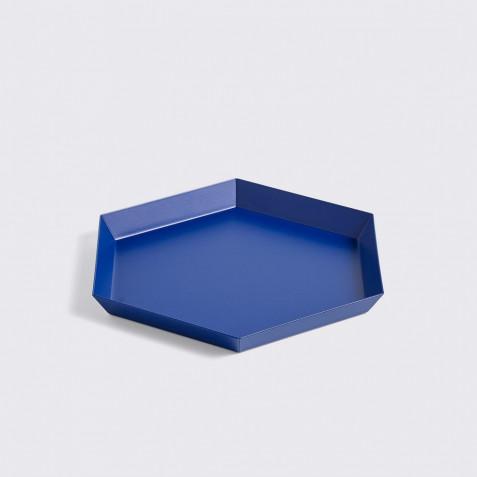 PLATEAU KALEIDO - S (22 X 19 ) - ROYAL BLUE