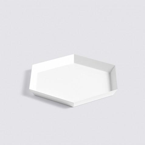 PLATEAU KALEIDO - S (22 X 19 ) - WHITE
