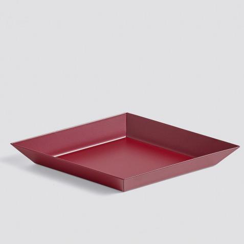 PLATEAU KALEIDO - XS (19 X 11 ) - DARK RED