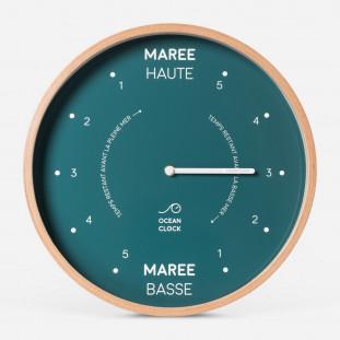 HORLOGE MAREE Diam 31cm - SAILOR Cadran Français