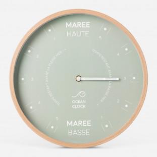 HORLOGE MAREE Diam 31cm - ALGAE Cadran Français