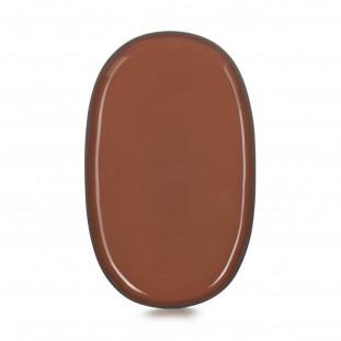 Assiette ovale Caractère