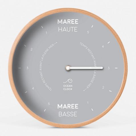 HORLOGE MAREE Diam 31 cm - MOON Cadran Français