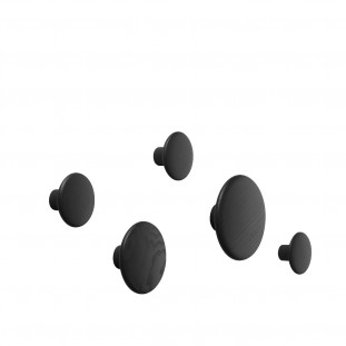 Dots Pack de 5 Black