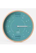 HORLOGE MAREE Diam 31cm - ARCTIC BLUE Cadran Français