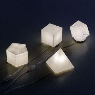 Lampe Minis Géométriques