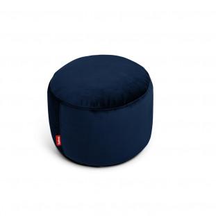 Pouf Point velvet Fatboy Dark blue