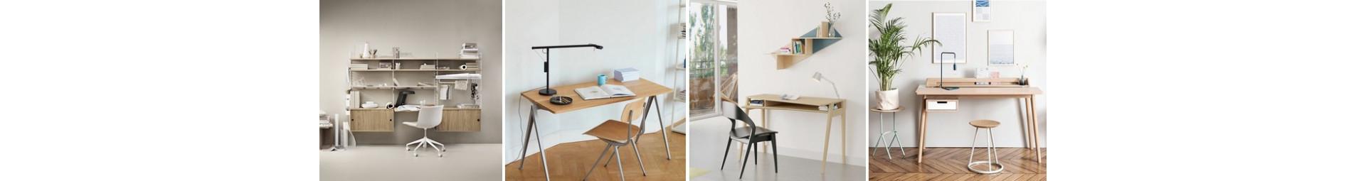 Bureau et fauteuil de bureau